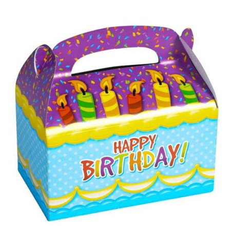 6 HAPPY BIRTHDAY PARTY TREAT BOXES FAVORS GOODY BAGS CARNIVAL PRIZE GIFT BASKET, 6 HAPPY BIRTHDAY PARTY TREAT BOXES FAVORS GOODY BAGS CARNIVAL PRIZE GIFT BASKET By Salman Store Happy Birthday Treat Bags