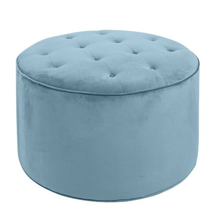 Fine Rosdorf Park Jeb Large Round Tufted Cocktail Ottoman Gmtry Best Dining Table And Chair Ideas Images Gmtryco