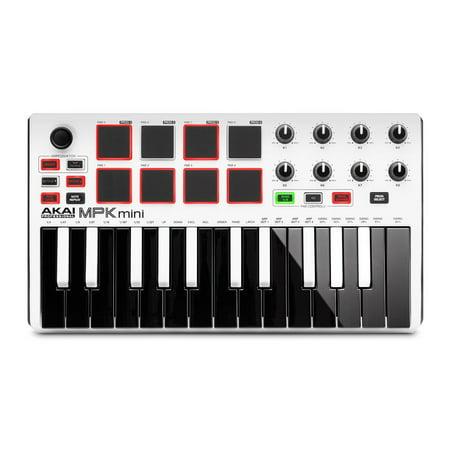 Akai Professional MPK Mini MKII 25-Key MIDI Controller,