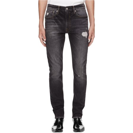 Calvin Klein Mens Taper Athletic Fit Jeans Tapered Fit Jeans
