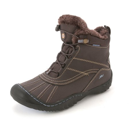 e8c43a1340012 JBU Womens Pullman Round Toe Ankle Cold Weather Boots | Walmart Canada