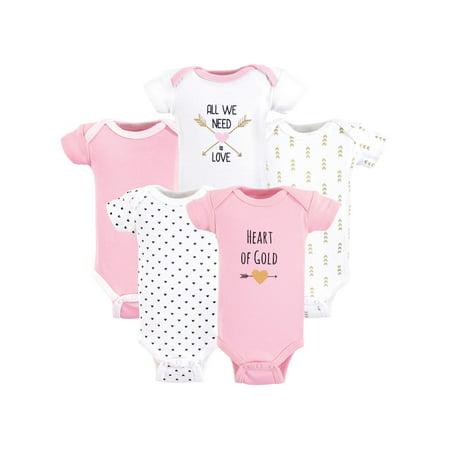 - Preemie Bodysuits 5pk (Baby Girls)