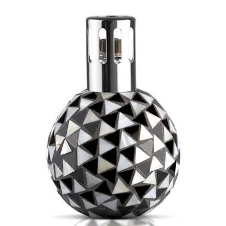 BLACK - WHITE Mosaic Lampair Fragrance Lamp by Millefiori Milano