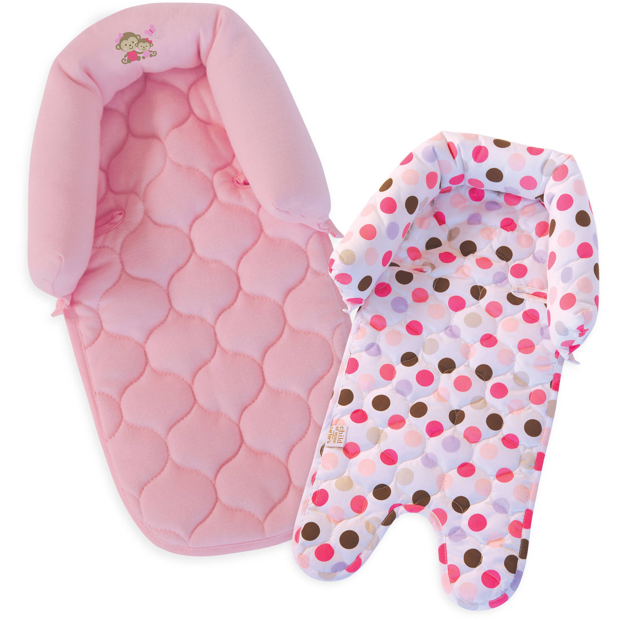 Child Of Mine Pink Dot Duo Head Support