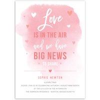 Big News Baby Invitation