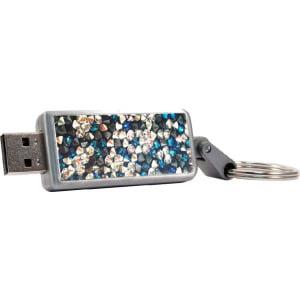 Swarovski Crystal USB 3.0 Keychain V2, 32GB