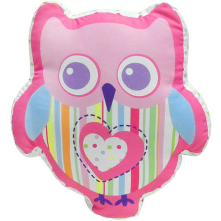 Mainstays Kids Decorative Pillow Bright Owl Walmart Com