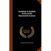 Readings in English Prose of the Nineteenth Century