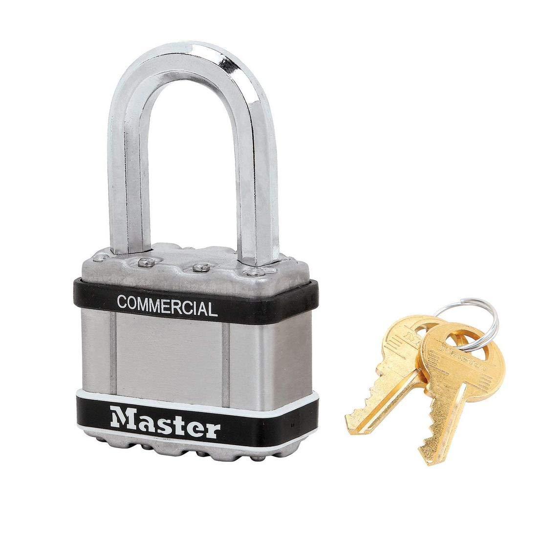 """Master Lock - M5NKASTSLF-1 - (1) Keyed Alike Lock 2""""W MAGNUM Padlock, 1-1/8""""L Shackle"""