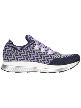 Brooks Womens Bedlam Fabric Low Top Lace Up Running, Purple/Navy/Grey, Size 8.0
