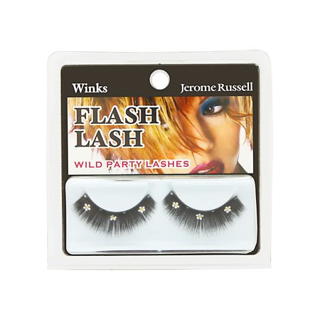 Jerome Russell Winks Flash Lash Wild Party Lashes Flash Lash Daisies - Silver (Wink Lashes)