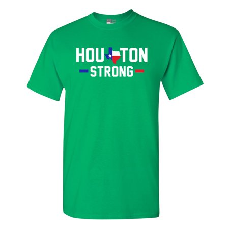 Houston Strong Map 2017 Survivor DT Adult T-Shirt Tee](Adult Store Houston)