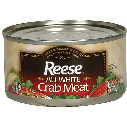 Reese All White Crab Meat, 4.25 oz (Pack of 12) by Generic