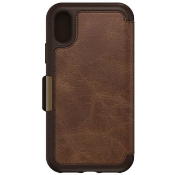 watch d90ef 8bbf7 OtterBox Strada Series Folio iPhone X Case, Espresso