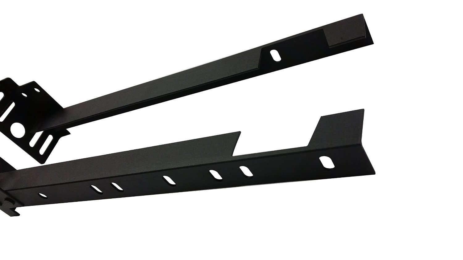 bed frame footboard extension brackets attachment kit set of 2