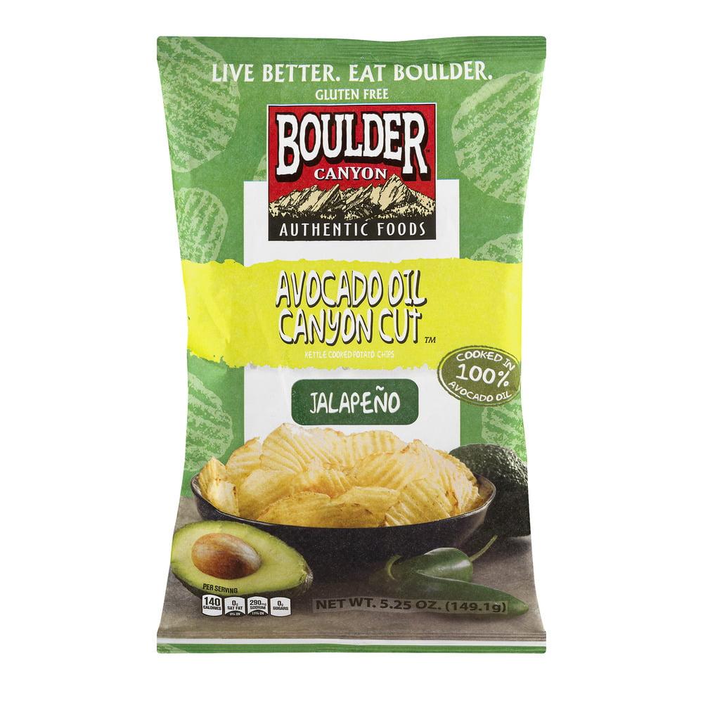 Boulder Canyon Avocado Oil Canyon Cut Kettle Cooked Potat...