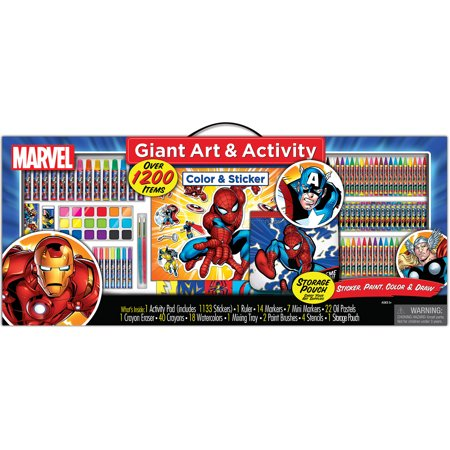 Artistic Studios Marvel Art and Activity Collection Set