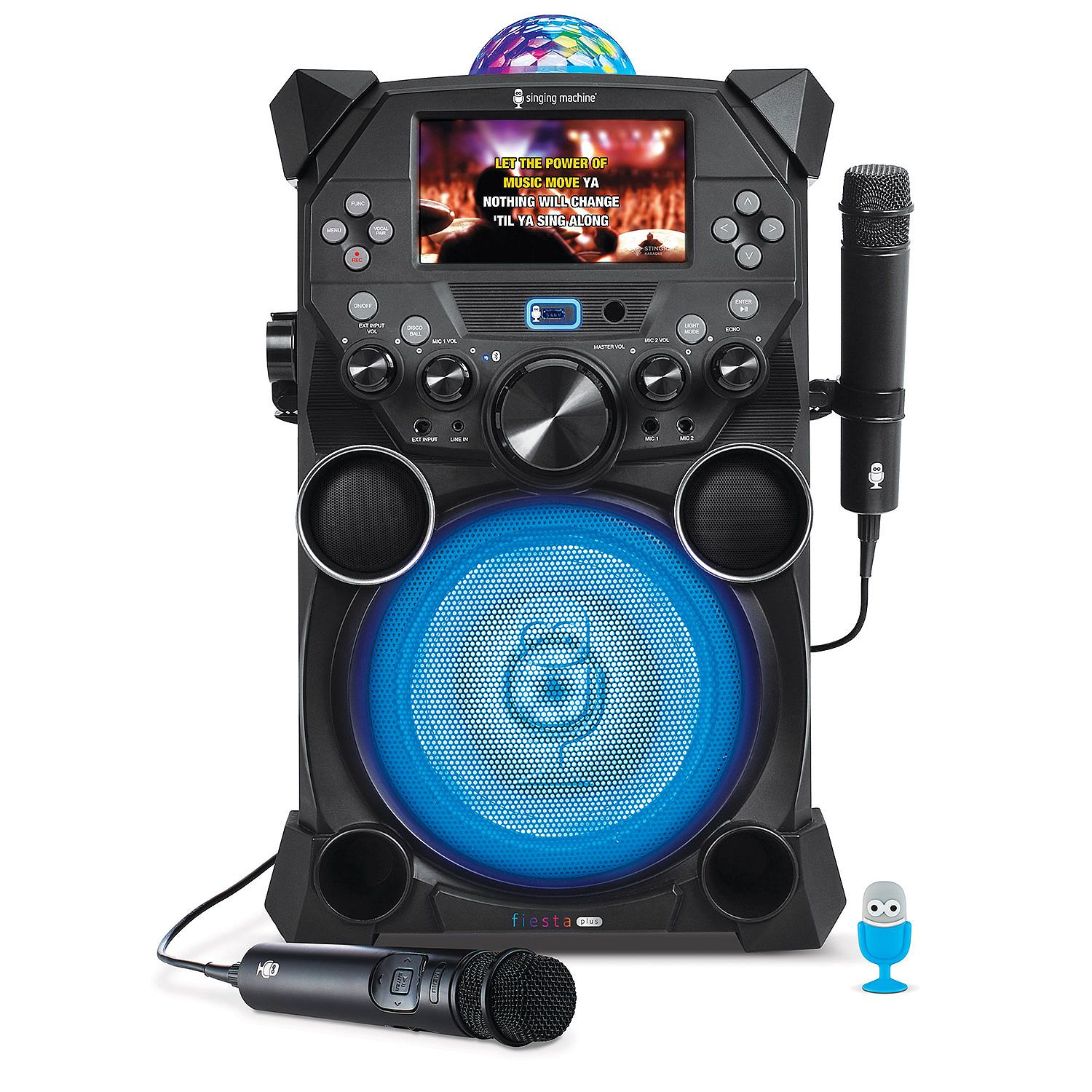 Refurbished Singing Machine SDL9039 Fiesta Plus Hi-Def Karaoke System