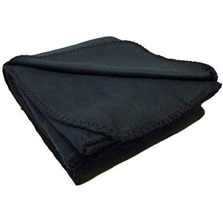 "Anico Cozy Polar Fleece, 50"" x 60"", Black Blanket, 50x60, - image 1 of 1"