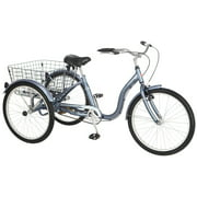 "24"" Schwinn Meridian Adult Tricycle, Grey"