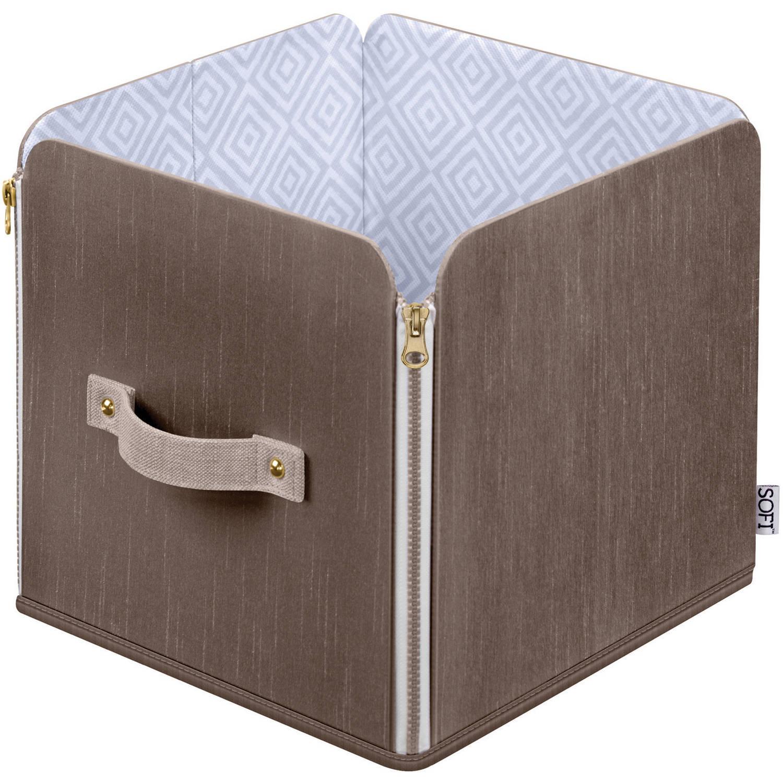 SOFI by Bankers Box, Zipper Tote Small, Closet Storage