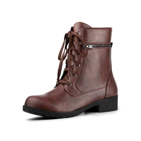 Women's Lace Up Combat Boots](Clearance Combat Boots)