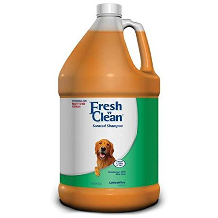 Scented Shampoo Professional Dog and Cat Gallon Ready to Use Pleasing Fragrance