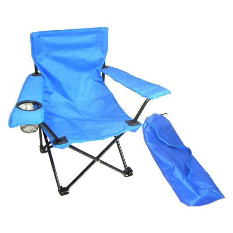 Redmon For Kids Kids Folding Camp Chair, Blue by