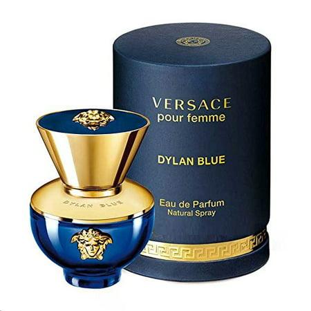 Dylan Blue by Versace Pour Femme Eau de Parfum Spray, 1.7 oz
