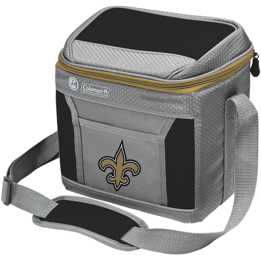 New Orleans Saints NFL 9 Can Soft Sided Cooler