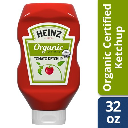((2 Pack) Heinz Organic Tomato Ketchup, 32 oz Bottle)