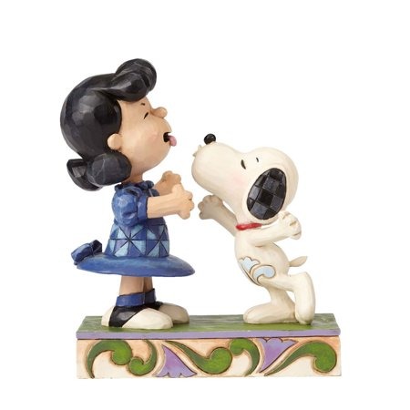 Jim Shore Peanuts Snoopy Kissing Lucy  4055941 New 2016 - Snoopy Peanuts