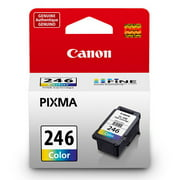 Canon CL-246 Tri-Color Inkjet Printer Cartridge compatible with PIXMA MG2420, PIXMA MG2922, PIXMA MG2924, PIXMA MG2520, PIXMA MG2920, PIXMA MX490 & PIXMA IP2820