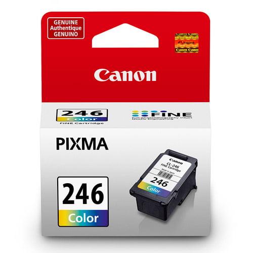 Canon CL-246 Tri-Color Inkjet Printer Cartridge compatible with PIXMA MG2420, PIXMA MG2922, PIXMA MG2924, PIXMA MG2520, PIXMA MG2920, PIXMA MX490 & PIXMA IP2820