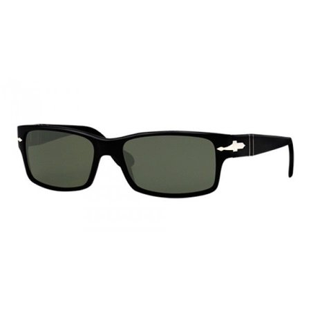 794b19036daef Persol - Authentic Persol Sunglasses PO2803-S 95 58 Shiny Black Frames  Green Lens 58MM