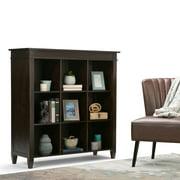 Simpli Home Carlton 9 Cube Bookcase & Storage Unit