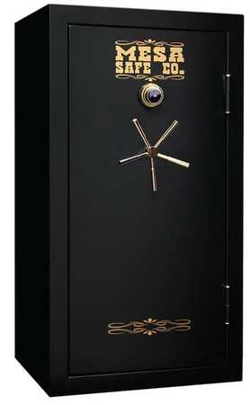MESA MBF6032C 13.9 cu ft Gun Safe, 30 Gun Capacity All Steel Safe with Combination Lock, Black by Mesa Safe Company