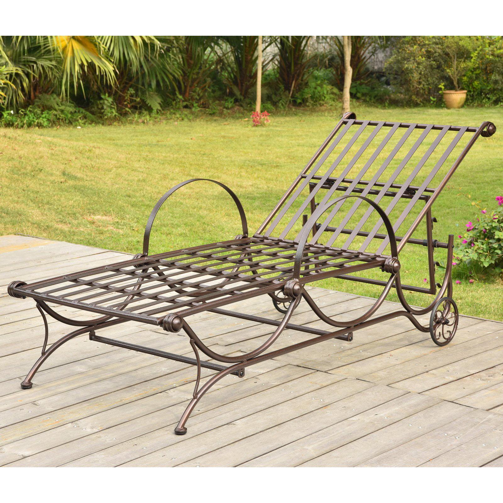 International Caravan Wave Adjustable Chaise Lounge