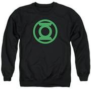 Green Lantern Green Emblem Mens Crewneck Sweatshirt