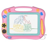 LOFEE Magna Doodle Etch a Sketch Present for 1 2 3 4 Year Old Girl,Magnetic Drawing Board Gift for 2 3 4 Year Old Girl Toy Age 1 2 3 Birthday Gift for 2 3 4 Year Old Girls Small Toys for T