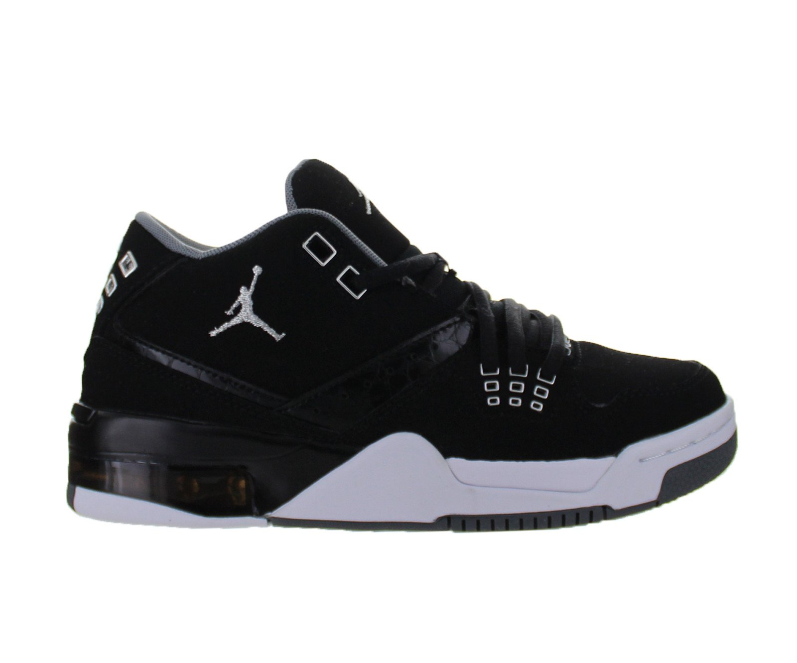 2305cb4f15ba66 ... switzerland air jordan flight 23 gs black chrome white cool grey 317821  022 walmart 6d0de d050b