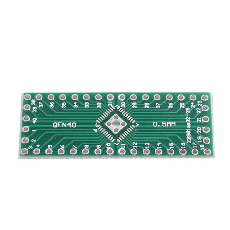 22Pcs QFN32 to QFP40 0.5mm Pitch Double Sides PCB Adapter Converter Plate - image 2 of 3