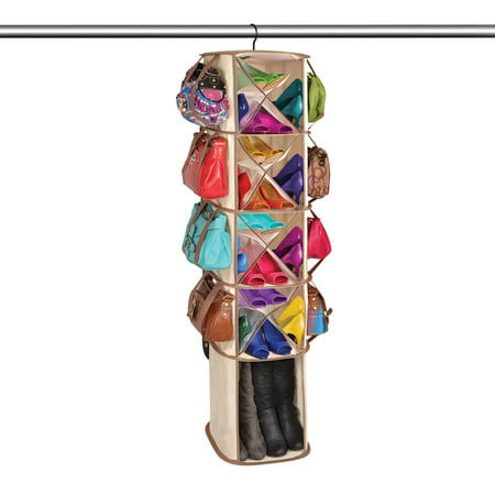 DAZZ 5-Tier 16-Packet Smart Carousel Organizer