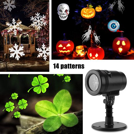 New 2017 Christmas Light Projector,LED Projector Light Show,YMIKO LED Projector Lights 14 Switchable Patterns Indoor and Out - Led New Years 2017