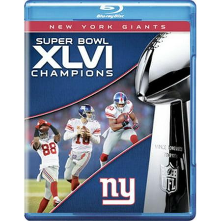 New York Giants: Super Bowl XLVI Champions