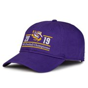 LSU Tigers The Game 2019 SEC Football Champions Bar Adjustable Hat - Purple - OSFA