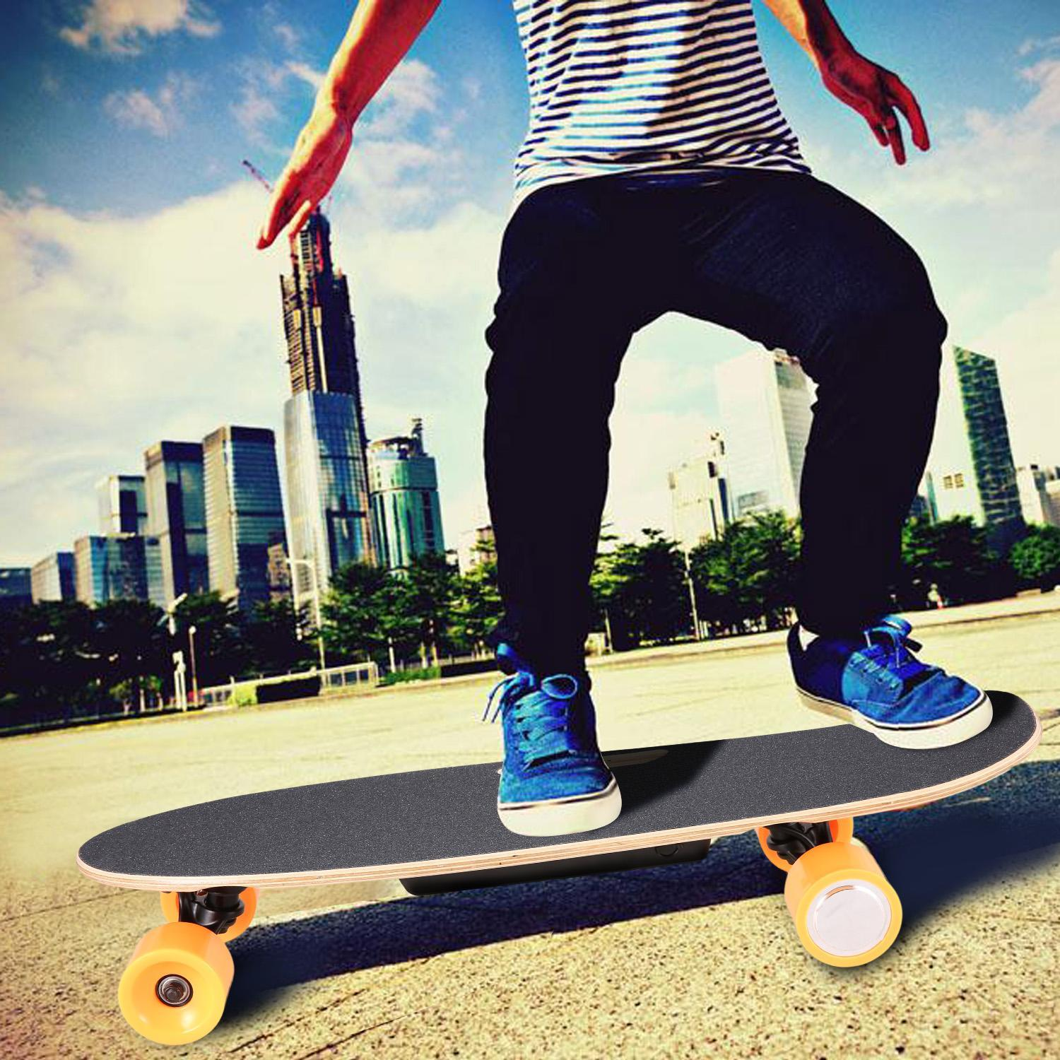 Big Saving !!! Electric Skateboard Longboard with Wireless Bluetooth Remote Control Support 264lbs Specially... by
