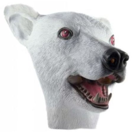 HMS Polar Bear Realistic Animal Mask