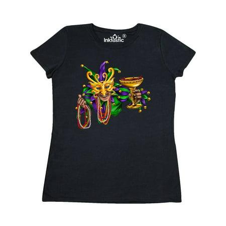 Mardi Gras Jester Women's T-Shirt (Mardi Gras Woman)