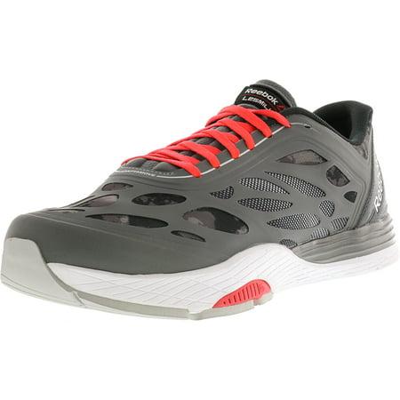 Reebok Men's Lm Cardio Ultra Grey / Pewter Cherry Black Ankle-High Running Shoe -